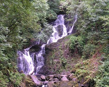 Torc Waterfall Near Killarney