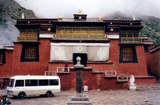 Tsurphu Gompa Reconstructed