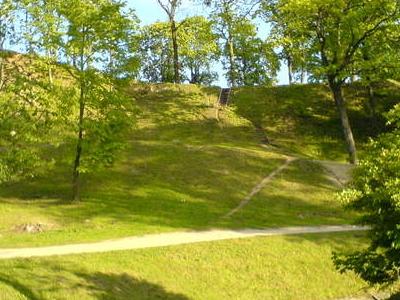 A Hill Fort In Ukmerge