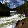 Upper Falls Of The Yellowstone River - Yellowstone - Wyoming - U