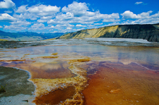 Upper Terrace - Yellowstone National Park - USA