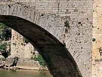 Viejo Bridge in Besalu