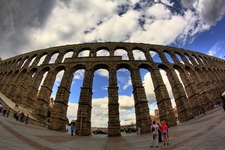 View Aqueduct In Spain