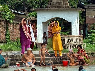 View Dakshineshwar Ghat WB