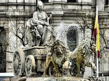 View Fuente De Cibeles In Madrid