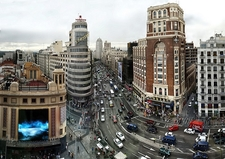 View La Gran Via - Madrid