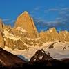 View Monte Fitz Roy At Sunrise - Los Glaciares National Park - Argentina Patagonia