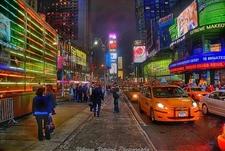 View NY Times Square At Night
