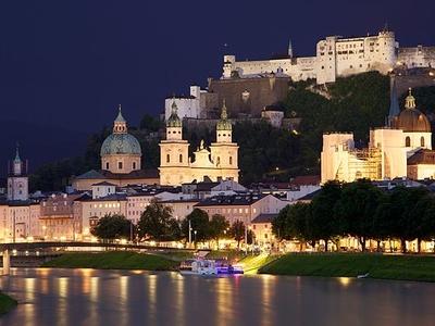 View Of Salzburg City Centre