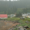 View Of Skidegate From Outside The Haida Heritage Center.