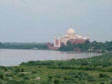 View Of Taj Mahal From Musamman Burj