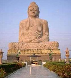 The 94 Ft. Tall Vishal Buddha Mandir