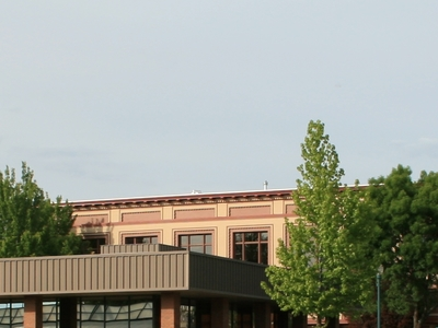 Walla Walla Business District With Historic Marcus Whitman Hotel