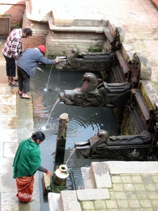 Water Pumps In Durbar Square