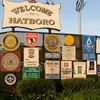 Welcome To Hatboro Sign
