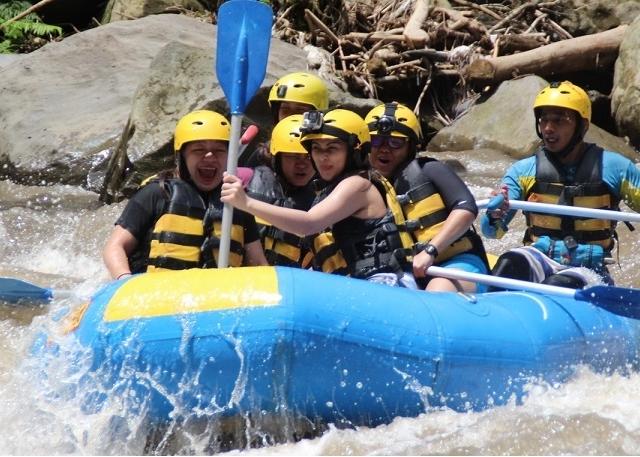 White Water Rafting Tour - Bali Photos