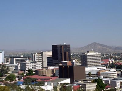 Windhoek City Overiew