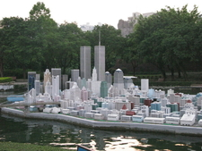 Skyscrapers Of The Manhattan Borough Of New York