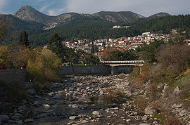 Xanthi From Kosynthos River