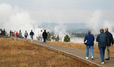 Yellowstone Boardwalk WY