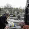 Viktor Yushchenko At The Grave Of Symon Petliura