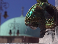 Zsolnay-fountain