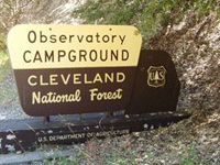 Cleveland Observatory Campground