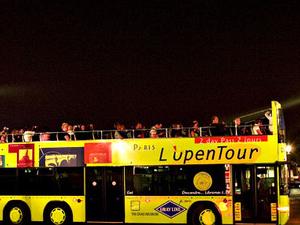 Paris Illuminations - by bus - I Photos