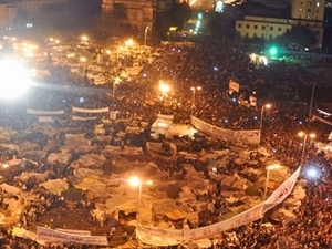 Smell of liberty in Tahrir Square Photos