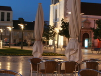 Center of the old fishing town.