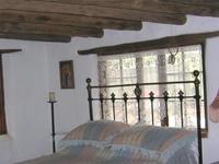 Historic adobe house near Santa Fe