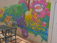 House decorated by an Artist