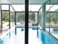 With indoor Pool