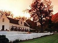Zorgvliet Vineyard Lodge And S