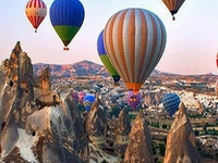 Cappadocia Hot-Air Balloon Ride with Breakfast and Champagne