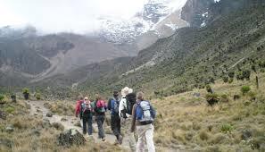 Mt Kenya Climb - Chogoria, Sirimon Route Photos