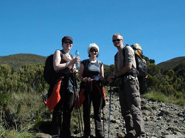 Trekking Mt. Kilimanjaro on Machame Route Photos