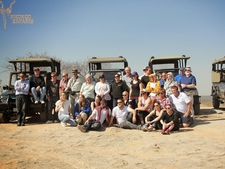 Group Enjoying The Lookout Over The Kruger National Park
