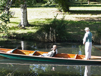 Punting On The Avon River By Rexness