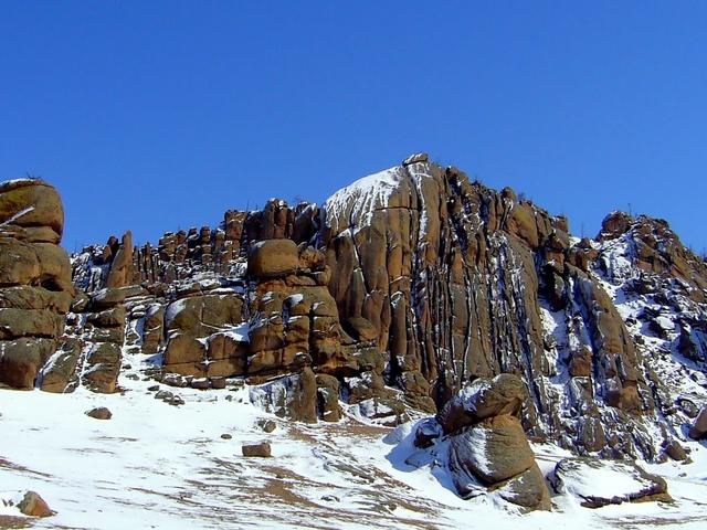 Winter Adventure in Terelj National Park Photos
