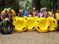 Cave Tubing with Vitalino Reyes