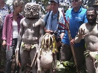 Papua New Guinea Local tribe trek/hiking and Remote Village Home-stay,