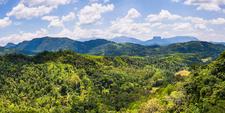 Panorama Photo Of Bible Rock Near Kandy In The Sri Lanka Central Province Aka Sri Lanka Highlands Or Sri Lanka Hill Country Asia