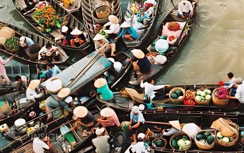 Mekong Delta - My Tho - Ben Tre - Can Tho Photos