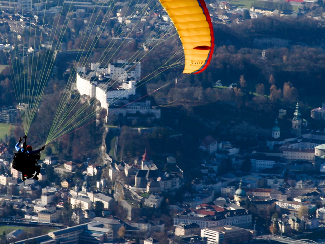 Tandem Paragliding Photos