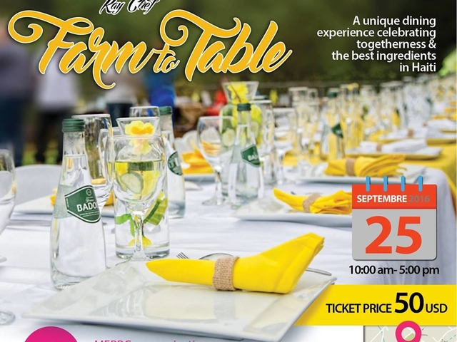 Farm to Table Brunch Haiti Photos