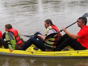 Kayak - Canoe on Mures River
