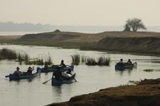 Canoeing Through Mana Flats