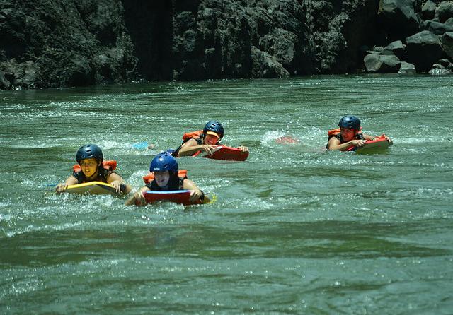 River Boarding Photos
