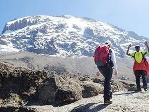 Kilimanjaro Climbing Machame Route Fotos